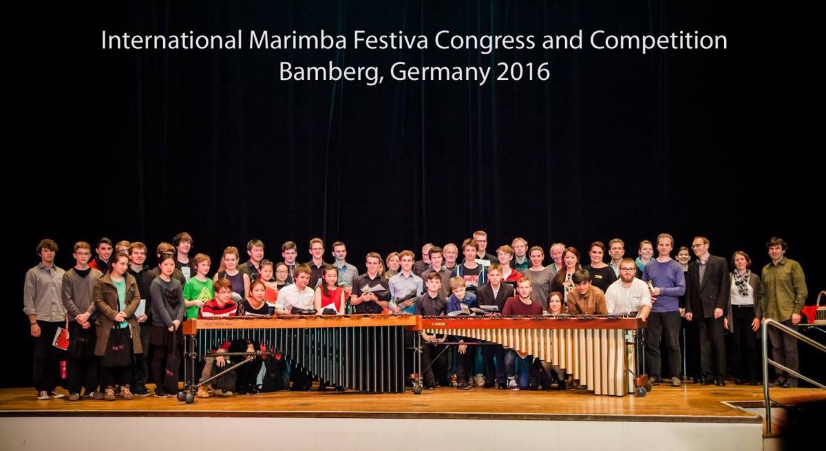 Gruppenfoto · Marimba-Festiva · Bamberg 2016