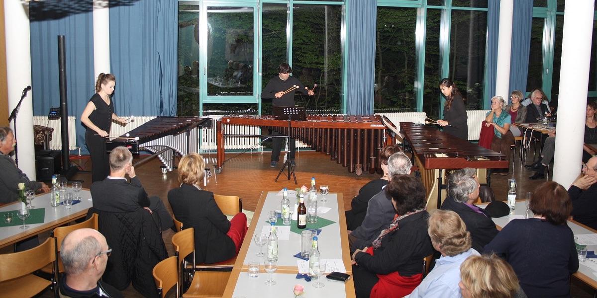 Marimba-Trio: Marianna Bednarska, Slawomir Mscisz, Kaori Kamada