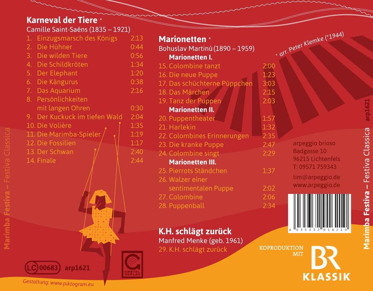Festiva Classica CD