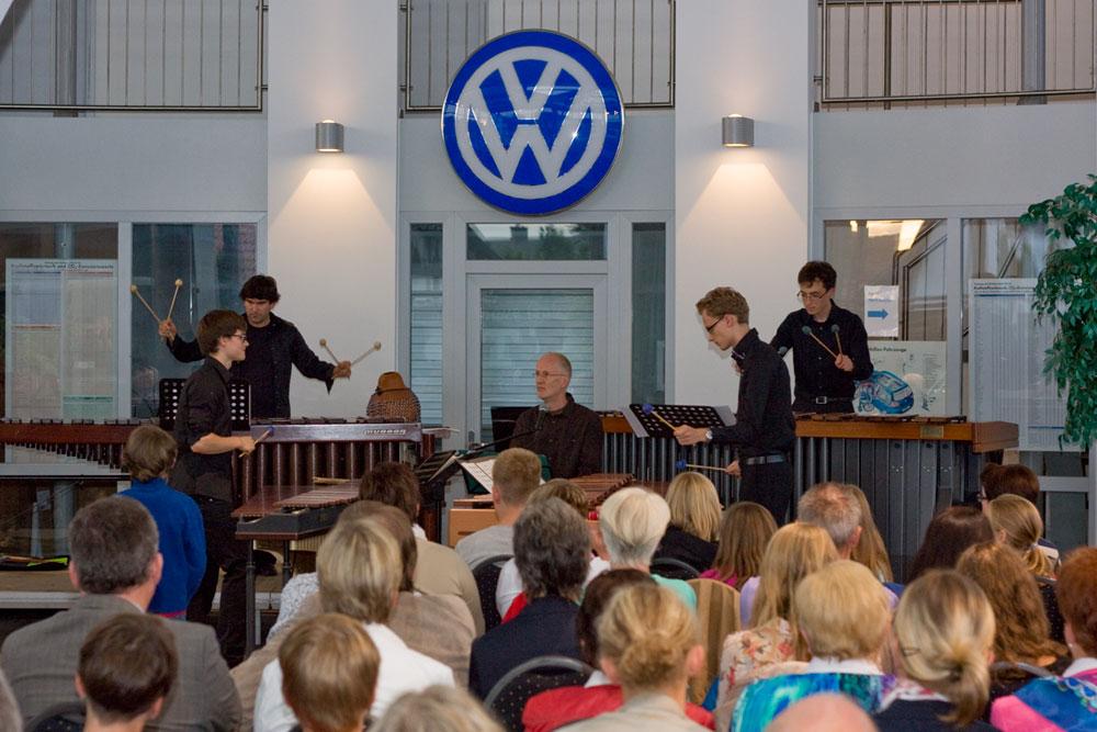 Marimba-Festiva-Quartett
