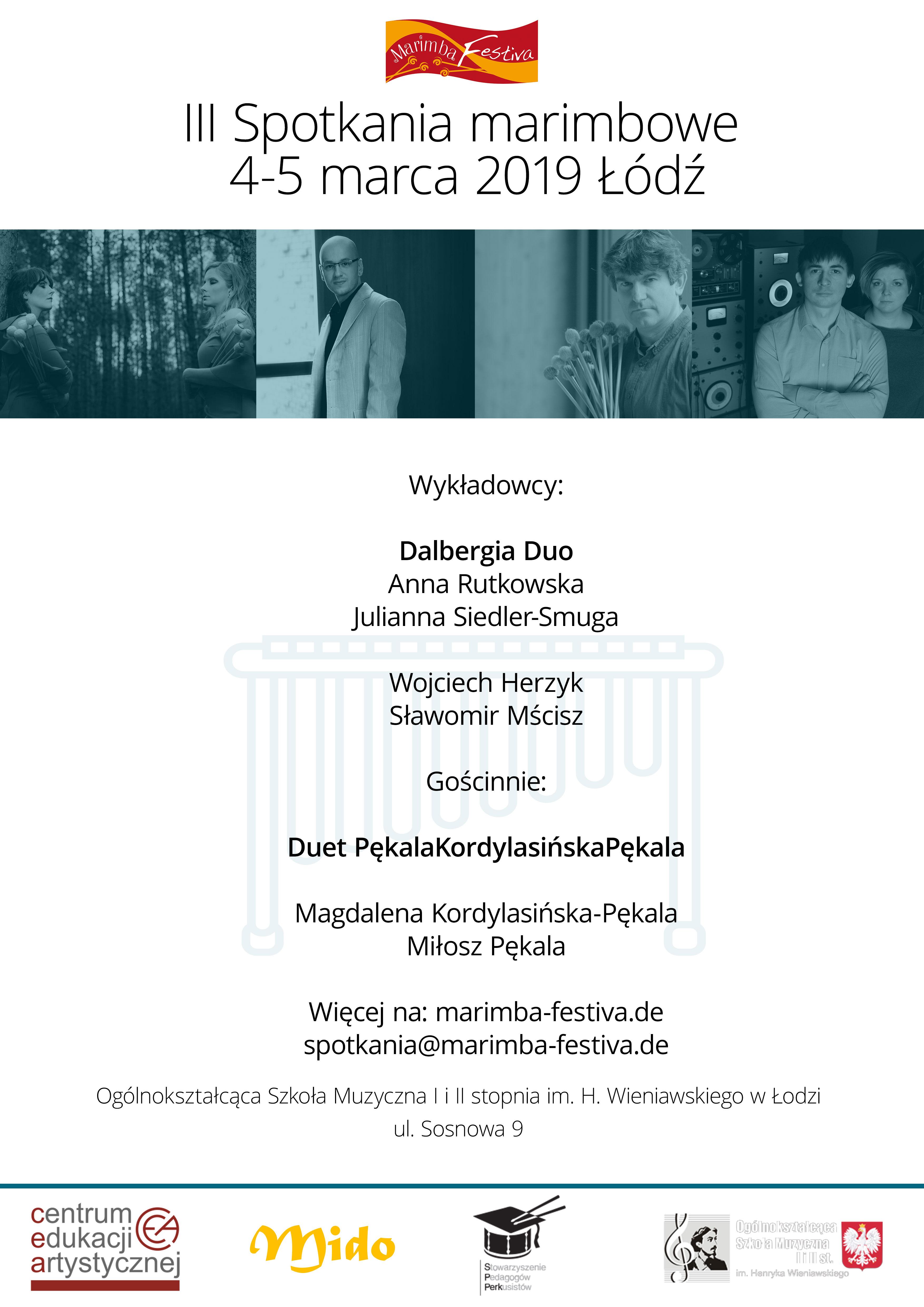 Spotkania 2019 · Plakat